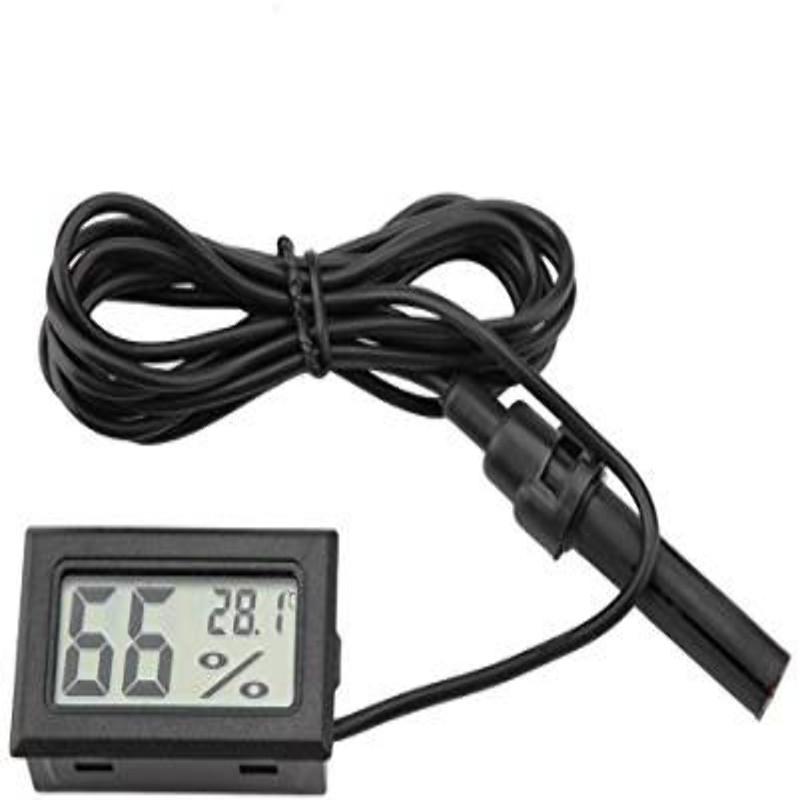 Thermomètre et hygromètre LCD avec sonde